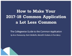 Common App Guide Cover